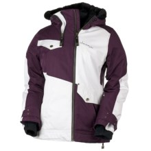 Obermeyer Sara Jacket - Insulated, Removable Faux Fur (For Women) in Plum - Closeouts