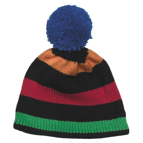 Obermeyer Sassy Knit Beanie Hat (For Little Kids) in Passionflower