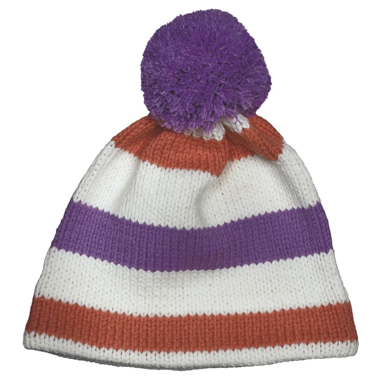 Beanie Hat Knitting Pattern For Kids : Obermeyer Sassy Knit Beanie Hat (For Little Kids) - Save 42%