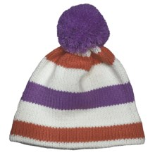 Obermeyer Sassy Knit Beanie Hat (For Little Kids) in Passionflower - Closeouts