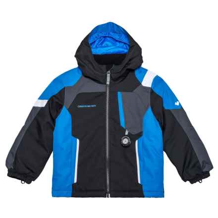 Obermeyer Scout Ski Jacket - Waterproof, Insulated (For Toddler Boys) in Black - Closeouts