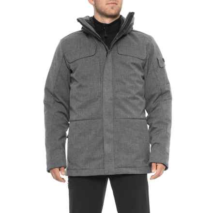 Obermeyer Sequence System Down Jacket - Waterproof, 3-in-1 (For Men) in Grey - Closeouts