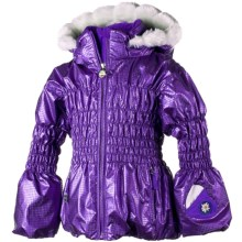 Obermeyer Sheer Bliss Jacket - Insulated (For Little Girls) in Grape - Closeouts