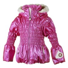 Obermeyer Sheer Bliss Jacket - Insulated (For Little Girls) in Hot Pink - Closeouts