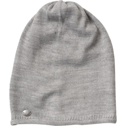 c28285ad Obermeyer Shine-On Knit Beanie (For Women) in Zinc Grey