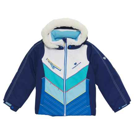 Obermeyer Sierra Ski Jacket - Waterproof, Insulated (For Toddler, Little and Big Girls) in Dusk - Closeouts