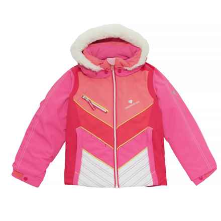 Obermeyer Sierra Ski Jacket - Waterproof, Insulated (For Toddler, Little and Big Girls) in Peony Pink - Closeouts