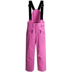 Obermeyer Sierra Snow Pants (For Girls) in Esential Pink