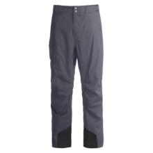 Obermeyer Silverton Snow Pants (For Men) in Ebony Houndstooth - Closeouts