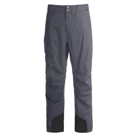 Obermeyer Silverton Snow Pants (For Men) in Ebony Houndstooth