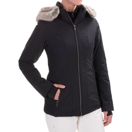 Obermeyer Siren PrimaLoft® Ski Jacket - Waterproof, Insulated (For Women) in Black