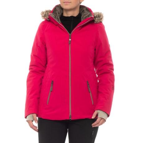Obermeyer Siren PrimaLoft® Ski Jacket - Waterproof, Insulated (For Women) in Sangria