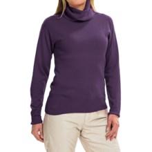 Obermeyer Ski Turtleneck Sweater - Merino Wool Blend, Long Sleeve (For Women) in Italian Plum - Closeouts