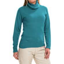 Obermeyer Ski Turtleneck Sweater - Merino Wool Blend, Long Sleeve (For Women) in Jewel - Closeouts