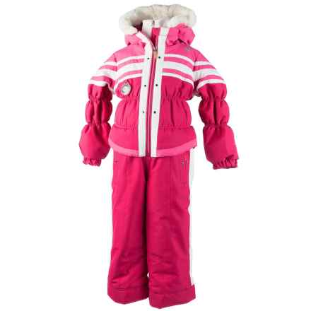 Obermeyer Skiter Snowsuit - Insulated (For Little Girls) in Glamour Pink - Closeouts