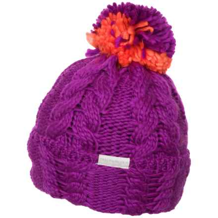 Obermeyer Skyla Cable-Knit Beanie (For Women) in Violet Vibe - Closeouts