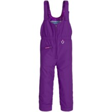 Obermeyer Snoverall Bib Overalls - Waterproof, Insulated (For Toddlers and Little Girls) in Iris Purple - Closeouts