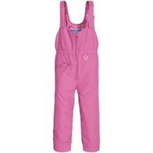 Obermeyer Snoverall Bib Overalls - Waterproof, Insulated (For Toddlers and Little Girls) in Rosebud - Closeouts