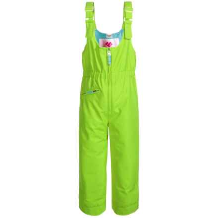 Obermeyer Snoverall Snow Pants - Waterproof, Insulated (For Little and Big Girls) in Sarah Green - Closeouts