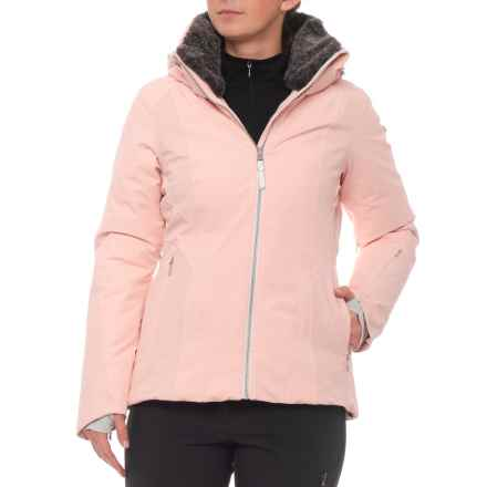 Obermeyer Sola Down Ski Jacket - Waterproof (For Women) in Pink In Paris - Closeouts