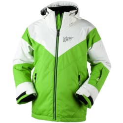 Obermeyer Solo Jacket - Insulated (For Boys) in Pro Green