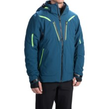 Obermeyer Spartan Ski Jacket - Waterproof, Insulated (For Men) in Eclipse - Closeouts