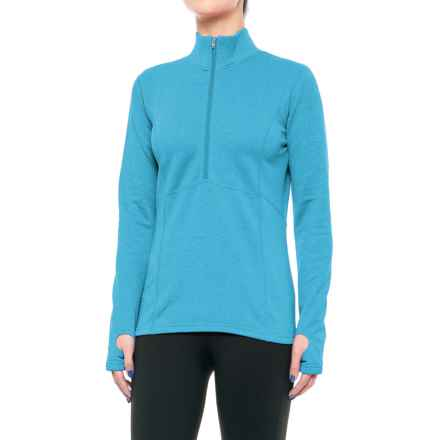 Obermeyer Splendid 150 Dri-Core® Fleece Shirt - Long Sleeve (For Women) in Bluebird - Closeouts