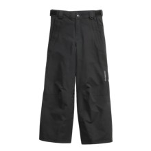 Obermeyer Stowe Snow Pants - Insulated (For Girls) in Black - Closeouts