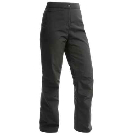 Obermeyer Sugarbush Stretch Ski Pants - Waterproof, Insulated (For Women) in Black - Closeouts