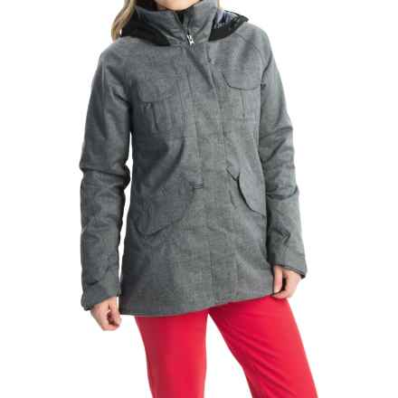 Obermeyer Suki Ski Jacket - Waterproof, Insulated (For Women) in Charcoal - Closeouts