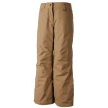 Obermeyer Sundance Snow Pants (For Boys) in Khaki - Closeouts
