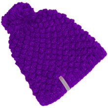 Obermeyer Sunday Knit Beanie Hat (For Women) in Iris Purple - Closeouts
