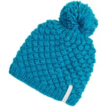 Obermeyer Sunday Knit Hat (For Big Kids) in Bluebird - Closeouts