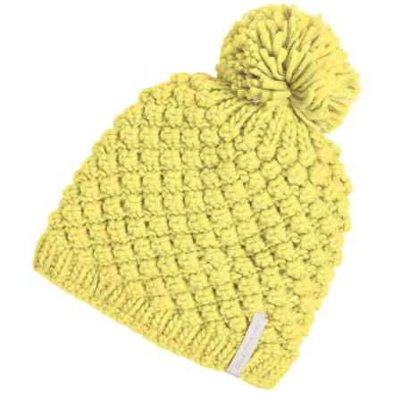 Obermeyer Sunday Knit Hat (For Big Kids) in Daffodil - Closeouts