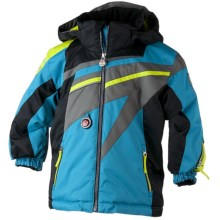 Obermeyer Super G Jacket - Insulated (For Little Boys) in Sky - Closeouts