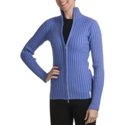 Obermeyer Sydney Sweater - Mock Neck (For Women) in Platinum