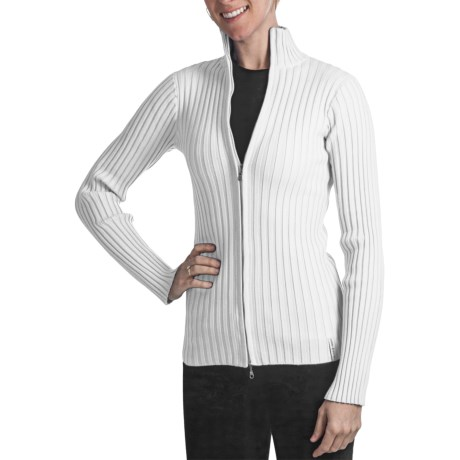 Obermeyer Sydney Sweater - Mock Neck (For Women) in White