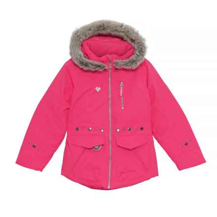 Obermeyer Taiya Jacket - Waterproof, Insulated (For Toddler, Little and Big Girls) in Smitten Pink - Closeouts