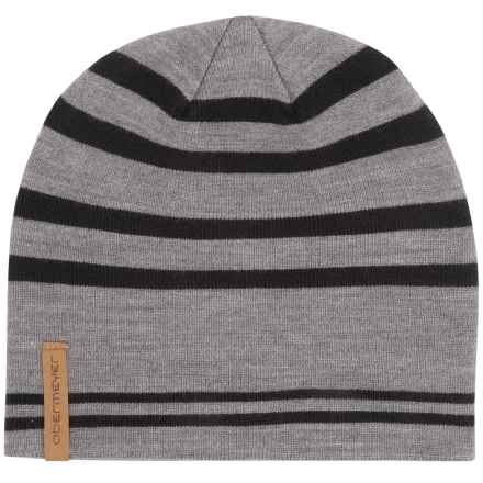 Obermeyer Traverse Hat (For Little and Big Kids) in Heather Grey - Closeouts