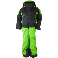 Obermeyer Turoa Snowsuit - Waterproof, Insulated (For Toddlers and Little Boys) in Glowstick - Closeouts
