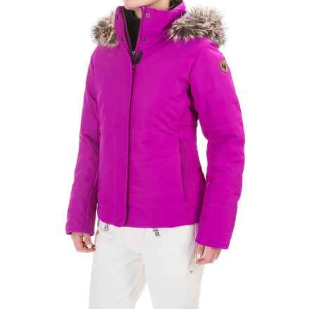 Obermeyer Tuscany Ski Jacket - Waterproof, Insulated (For Women) in Violet Vibe - Closeouts