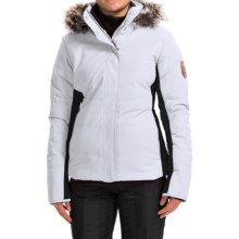 Obermeyer Tuscany Ski Jacket - Waterproof, Insulated (For Women) in White - Closeouts