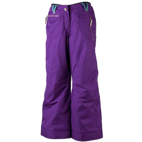 Obermeyer Twilight Snow Pants - Insulated (For Girls) in Regal