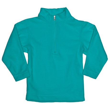 Obermeyer UG 100 Micro Zip Pullover - Fleece, Zip Neck (For Little Kids) in Electric Blue
