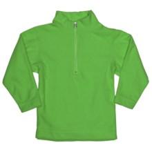 Obermeyer UG 100 Micro Zip Pullover - Fleece, Zip Neck (For Little Kids) in Pro Green - Closeouts