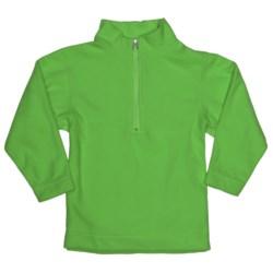 Obermeyer UG 100 Micro Zip Pullover - Fleece, Zip Neck (For Little Kids) in Pro Green
