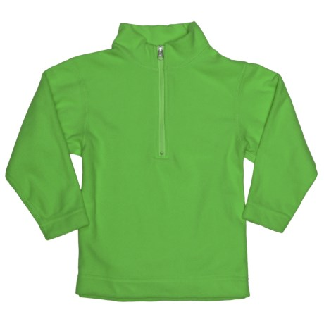 Obermeyer UG 100 Micro Zip Pullover - Fleece, Zip Neck (For Little Kids) in Pro Green