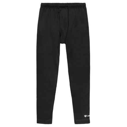 Obermeyer Ultrastretch Fleece Pants (For Little and Big Boys) in Black - Closeouts