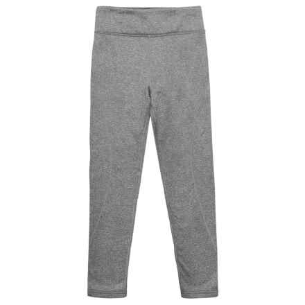 Obermeyer Ultrastretch Fleece Pants (For Little and Big Girls) in Heather Grey - Closeouts