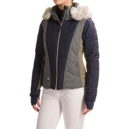 Obermeyer Verbier Ski Jacket - Waterproof, Insulated (For Women) in Storm Cloud - Closeouts